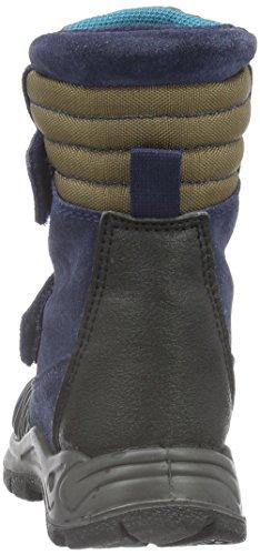 Naturino Naturino Abetone., Bottes mi-hauteur avec doublure chaude garçon Bleu - Blau (Blau_9103)