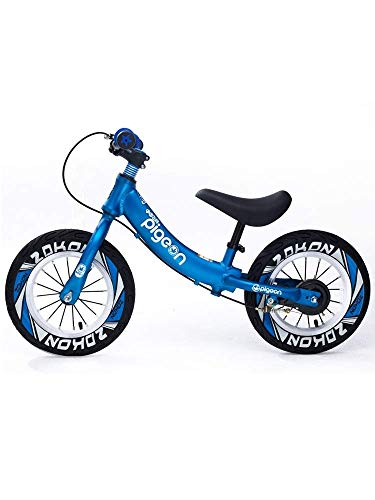 Sport Balance Bike mit Handbremse - No-Pedals Running Bike Fahrrad für 2, 3, 4, 5,6 Jahre Alten Jungen/Mädchen/Kinder, Verstellbarer Lenker und Sitz, 12 Zoll ZHAOFENGMING (Für Mädchen Fahrrad-sitze)