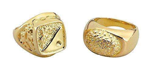 4 Stil Ringe Sovereign, Gold, One Size ()