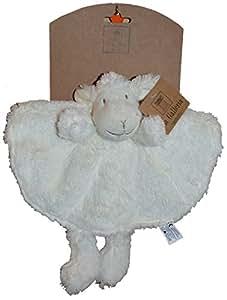 La Galleria - Doudou mouton rond avec pieds - 28 cm - CAG-011