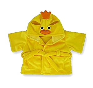 Yellow Duck Robe Teddy Bear Clothes fit Build a Bear Factory Teddies