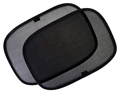 "Preisvergleich Produktbild UISHANGMAOYOUXI Car Window Shade - (4 Pack) - 21""x14"" Cling Sunshade for Car Windows - Sun,  Glare and UV Rays Protection for Your Child - Baby Side Window Car Sun Shades"