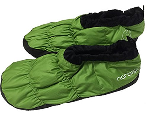 Nordisk Mos Down Chaussure green