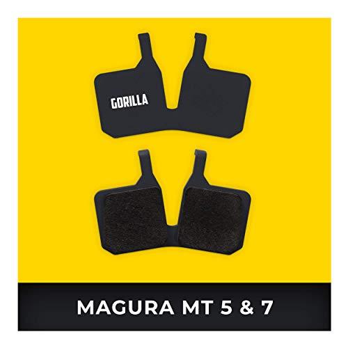 Magura Bremsbeläge MT-5 MT-7 für Fahrrad Scheibenbremse I Hohe Bremsleistung I Langlebiger & Passgenauer Bremsbelag