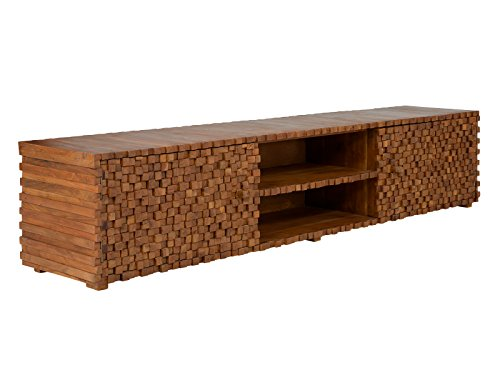 Massivum Abadi TV-Bank Mango, Holz, Braun, 48 x 228 x 50 cm