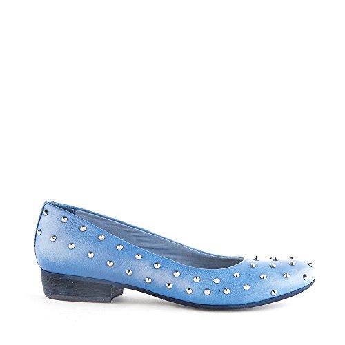 Felmini - Scarpe Donna - Innamorarsi com Lisboa 7948 - Scarpe ballerine - Pelle Genuina - Blu Blu