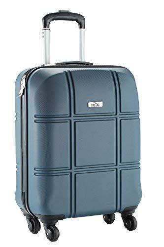 Cabin Max Turin tamaño de la cabina equipaje de mano abs 55 x 40 x 20 cm (Oscuro Granito)