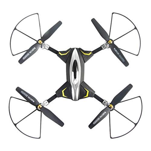 Yooshen Mini Drohne 3D 360° Flip RC Quadcopter mit Höhenhaltefunktion Headless-Modus, Start / Landung mit Einem Knopfdruck, Widerstand gegen das Fallen, Geeignet für Kinder, Anfänger (Schwarz)