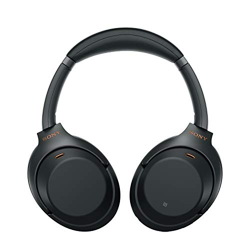 Sony WH-1000XM3 Wireless Industry Leading Noise Cancellation Headphones with Touch Sensor (Black)
