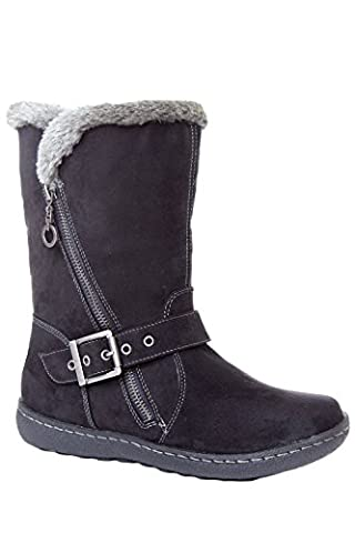 Pixie Poppy, Ladies Boot (6, Black)