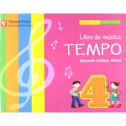 El Libro De Música Tempo 4. Andalucía. Libro (+CD)