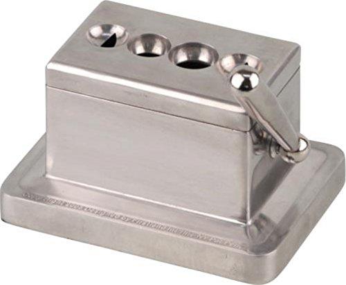 Tischzigarrencutter mit 4 Klingen inkl. Lifestyle-Ambiente Tastingbogen