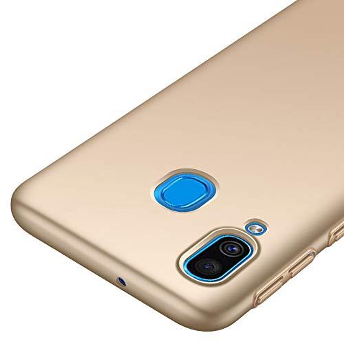 Richgle Samsung Galaxy A40 Hülle, Gold Sehr Dünn Schutz Hülle Handyhülle Harte Schutzhülle Case für Samsung Galaxy A40 (5.9