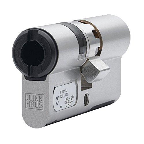 Winkhaus Elektronischer Doppelprofilzylinder für blueCompact Schließanlage Länge 30/30, BO01V12TN3030N