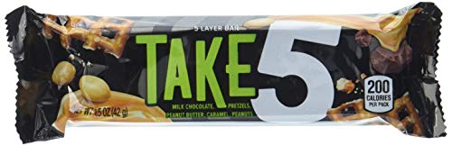 Hershey's Take 5 Bar 1.5 oz, 6er Pack (6 x 50 g)