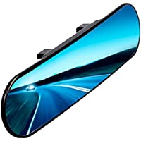 Chytaii Car Rearview Mirror Car Interior Mirror Panoramic Wide Angle Clip On Rear View Mirror Anti-Glare Titanium Mirror Rounded Angle