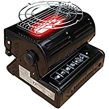 Calentador de gas portátil al aire libre Oshide Acampada Calentador de butano