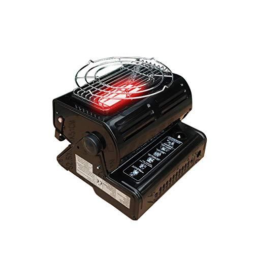 PROKTH - Chauffage Portable gaz - Poele a petrole - Outdoor Heater - pour Camping, activités extérieures - Noir