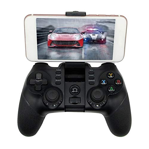 l Tragbare Größe Wireless Game Pad Gamecontroller Smartphone Joystick Geeignet für PS3 für Android-Handys (schwarz) ()