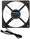 riotoro 120 mm Cross-x Clear LED Fan - Blau