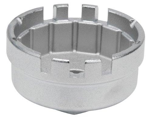 KS Tools 150.9212 Cloche filtre à huile 3/8″ 64,5mm 14 pans 1 encoche du coffret 150.9210. pas cher