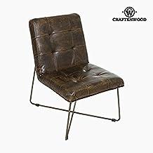 Silla de Comedor Polipiel marrón - Colección Serious Line by Craftenwood