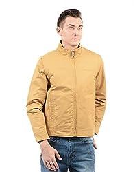 Monte Carlo Mens Cotton Jacket (217039538-1_Mustard_44)