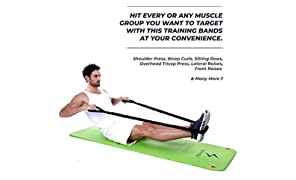 Spinway® Premium Quality Latex Training Band,Toning Tube, Exercise Band, Body Building Training,Pull Rope Exerciser,Resistance Band