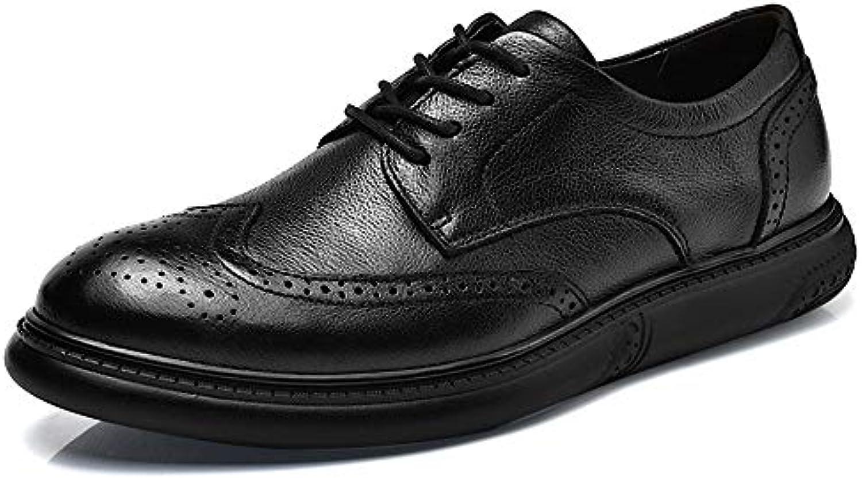 Yajie-scarpe, Scarpe Scarpe Scarpe Casual da Uomo in Pelle Oxford con Bretelle in Pizzo Comfort Sculptural Comfort da Uomo (Coloree... | Di Alta Qualità  fa22f0
