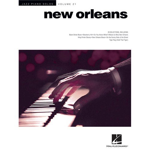 Jazz Piano Solos Volume 21: New Orleans. For Pianoforte