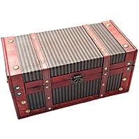 Preisvergleich für Generic Treasure Box Spielzeug Stauraum Treasure BO Neu Holz Spielzeug Storag Orage Trunk Brust