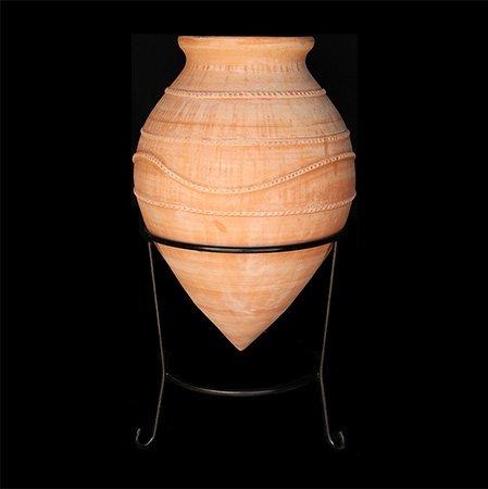 Crétoise traditionnel fait main Pot en terre cuite – minoenne Design \\