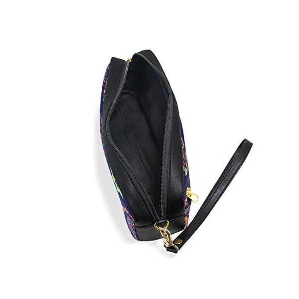 Estuche para lápices con diseño étnico abstracto de mandala, gran capacidad, con doble cremallera duradera para la…