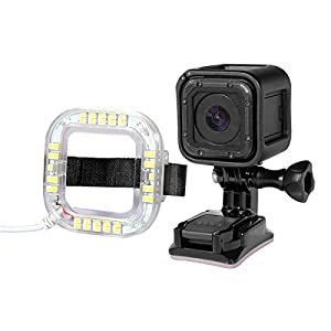 MASUNN 1.9 W 160 Lm 38Pcs Usb Led Flash Ring Pour Gopro Hero 4 Session