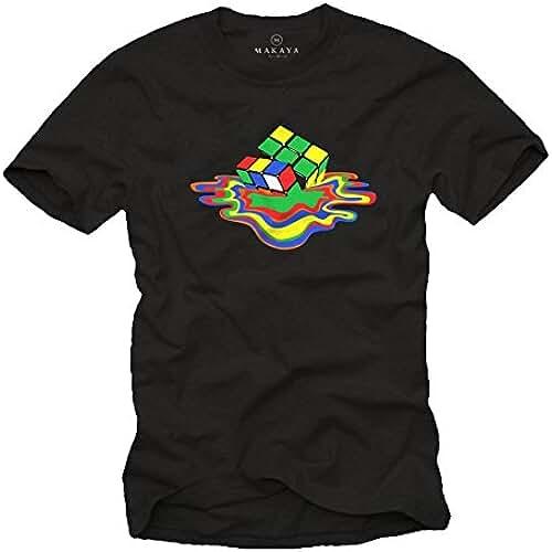 dia del orgullo friki Camiseta Hombre - Cubo de Rubik