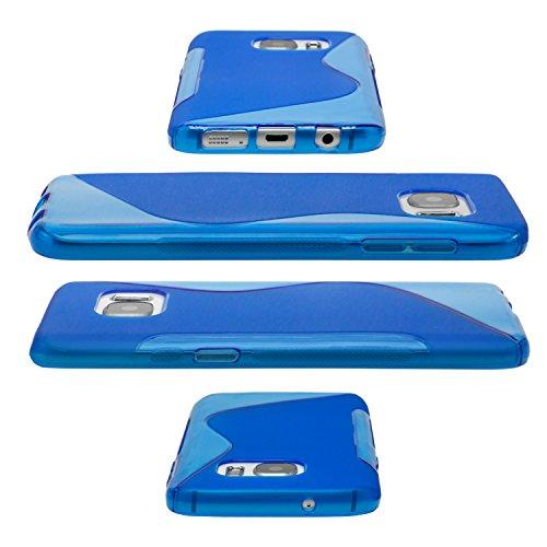 Mobilefox S-Line Schutzhülle Silikon Soft Case Apple iPhone 6/6S Plus Transparent Transparent