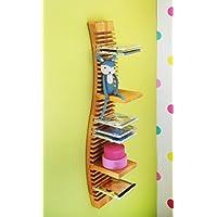 Preisvergleich für BioKinder 23169 Spar-Set: CD-Regal hängend 80 cm mit 4 Einsteckböden Massivholz Erle