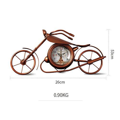 NewbieBoom Reloj Despertador de Estudio Vintage Reloj de Mesa para ...