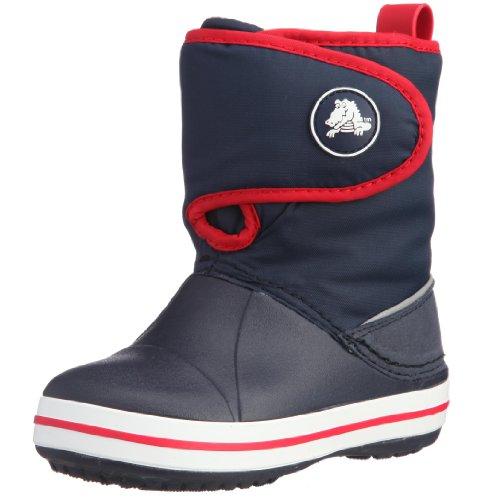 Crocs Crocband Gust, Unisex - Kinder Stiefel Blau/Navy/Red
