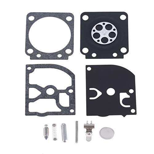 Hicello Carburetor Carb Repair Rebuild Kit für ZAMA RB-129 C1M-W26 A-C Series Carbs -