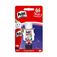 Pritt Glue Stick, Safe & Child-Friendly Craft Glue for Arts & Crafts Activities, Strong-Hold adhesive for School & Office Supplies, 1x22g Pritt Stick
