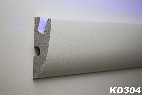 1,15 Meter LED Stuckleiste für indirekte Beleuchtung XPS 95×45, KD304