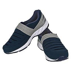 VAO MOCASION COMFORTABLE WALKING SHOES NAVY BLUE UK/IND-07 FOR MEN