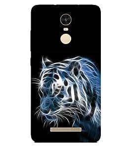PRINTSWAG TIGER Designer Back Cover Case for Xiaomi Redmi Note 3