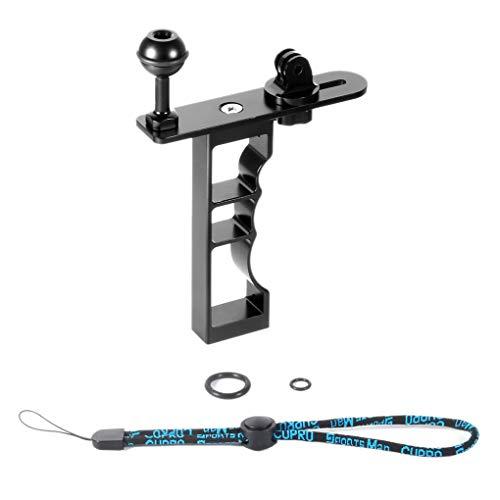Floridivy Ersatz für GoPro Hero 5 4 3 Einzelhand Tauchen Fotografie Klammer-Rahmen-Mount Kit-Handgriff Monopod