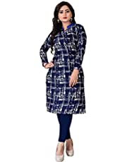 Kesari King Women's Crepe Semi-stitched Salwar Suit (1023x_Multicolor_Free Size)