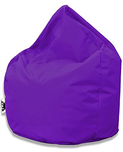 Sitzsack Tropfenform für In & Outdoor | XXL 420 Liter - Lila - in 25 versch. Farben und 3 Größen