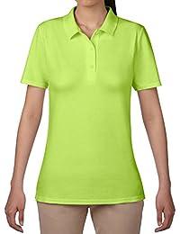 Anvil Women's Short Sleeve Double Piqué Polo Shirt