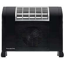 Rowenta Dualiio IR5010F1 Calefactor y radiador de 2000 W o 1000 W, apto para baño con termostato mecánico con posición antiescarcha y cable enrollable (Reacondicionado Certificado)