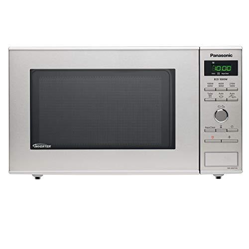 Panasonic NN-SD27H  Mikrowelle (1000 Watt, Inverter-Technologie, Edelstahl, 6 Mikrowellenleistungsstufen)